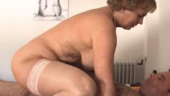 Seks met ouwe tante