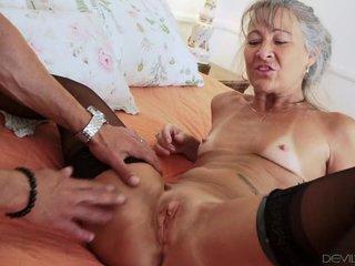 Horny Granny Leilani Lei Nailed