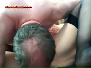 Granny Getting Fucked On Webcam