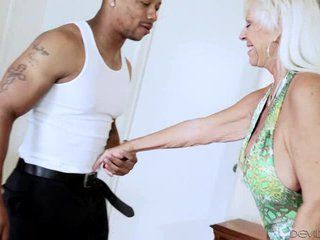 Blonde Granny Mandy McGraw Love BBC