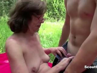 18yr old Boy Fuck 61yr old Hairy Granny in As