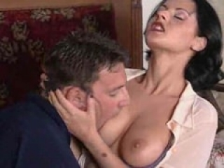 Hungarian MILF rides a thick cock