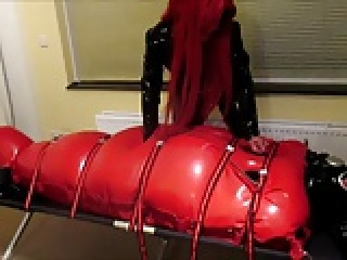 inflatable rubber bag
