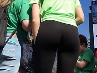 Ny St Pat Tall Cutter Hot Girl Blonde