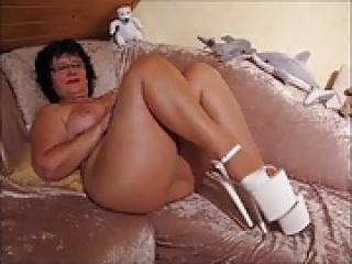 Mature German Butt Naked In Platform Heels