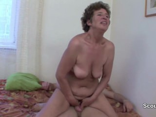 German 71yr old Granny Get Ass-fuck