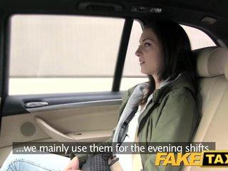 Fake Taxi Passenger wants drivers big cock